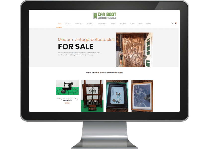 online shop design knebworth