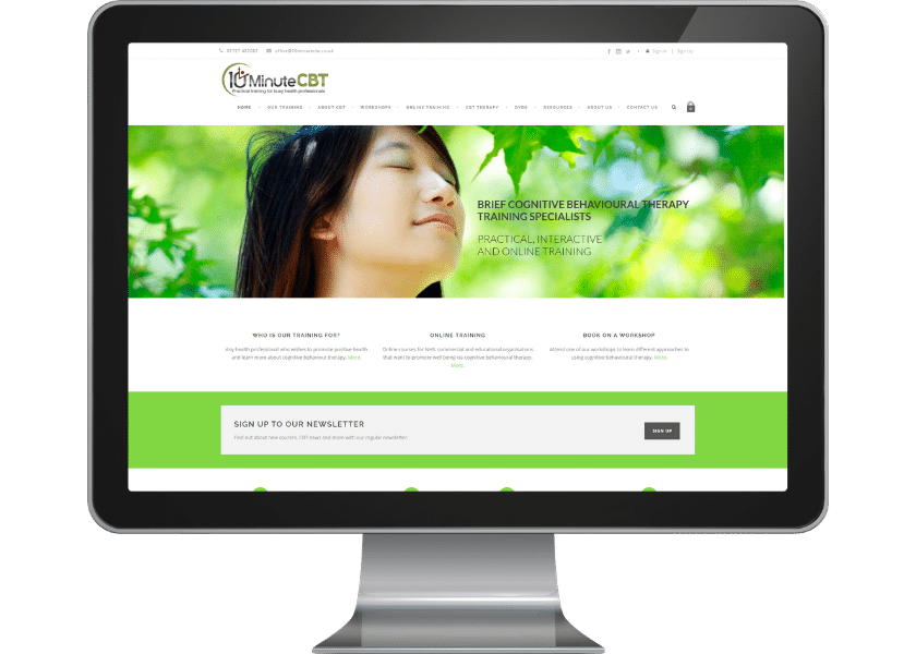 Website for therapist in Letchworth